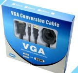 VGA + audio al cable 720p/1080I/1080P de HDMI