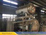 Dn1500X4000回転式オートクレーブの滅菌装置(二重容器のオートクレーブ)