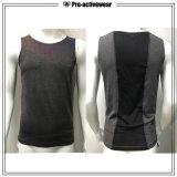 Camisa impressa dos homens algodão 100% feito sob encomenda T da alta qualidade para esportes