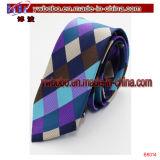 Silk Krawatten-Polyester-Schule bindet Halsbekleidung-Kabel-Zubehör (B8006)
