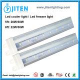 1800mm 6FT 30W v 모양 LED 냉각기 진열장 빛 LED 냉장고 빛 ETL Dlc