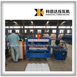 Kxd-828サーボモーター機械を形作る高速艶をかけられた屋根瓦ロール