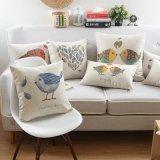 ソファーのためのベッドの印刷された45X45cm Plycottonの投球枕