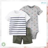Dodの印刷の赤ん坊の衣服の2パソコンの赤ん坊の摩耗セット
