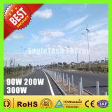 sistema das energias eólicas do moinho de vento do gerador conduzido do vento do gerador de turbina do vento 90W-300W para a luz de rua