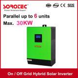 Inverseur solaire pur à haute fréquence d'onde sinusoïdale avec sur le réseau outre de l'hybride 3kVA-5kVA de réseau