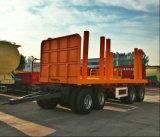 튼튼한 로그 트럭을%s 가진 로그 트레일러