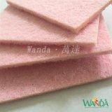軽量のピンクのクリーニングパッドのスカウラーのパッドのスクラバーの磨くパッド
