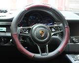 Alta qualità di cuoio rossa del coperchio del volante dell'automobile