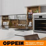 2017 Gabinete de cocina modular estándar de la laca blanca 360cm (OP17-L01)