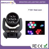 Das kompakteste 7*15W LED bewegliche Hauptwäsche-Licht