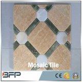 Natürliches Marmormosaik für Wand-Fliese und Bodenbelag