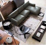 Американская софа неподдельной кожи типа для домашней мебели