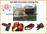 Petit chocolat du KH 150 enrobant la machine