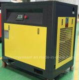 compresor de aire de dos fases del tornillo del inversor del imán permanente 15kw/20HP