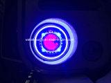 35 pouces With7 pour des couleurs de la jeep DEL trois des phares étoilés de Light/HID avec le halo d'oeil de démon de diable et d'ange de DEL