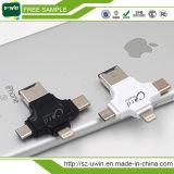 Multifunctionele Lezer van de Kaart 4 in 1 Aandrijving van de Flits USB met de Aandrijving van de Flits van type-C /USB/Androïde Haven
