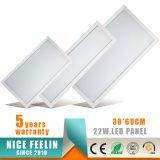 El panel ahuecado de la luz de techo de 300*600m m 22W LED