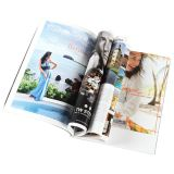 四色刷の安く適用範囲が広い装丁本の印刷