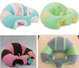 Круглая подушка младенца хлопка PP ткани плюша