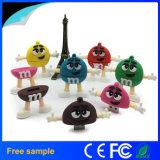 Schijf de van uitstekende kwaliteit van de Flits van de Bonen USB 2.0 van de Chocolade