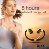 2016 auricular sin hilos estéreo de la reducción del nivel de ruidos del auricular CVC de Bluetooth de la música de la tirilla de la camisa impermeable 6.0 para la gente corriente del deporte