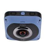 câmara de vídeo panorâmico de WiFi 720 cheios Vr 360-Degree da visão 4k