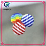 Regenbogen-Streifen-Farben-Harz-Kind-Hemd-Ober-Taste