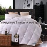 Hotel da estrela do luxo cinco/fundamento alternativo branco usado Home durável de Microfiber do ganso do Comforter/Duvet/Quilt para baixo luxuoso