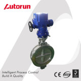 Wenzhou Fornecedor Double Flange Ex Ventilation Electric Butterfly Valve