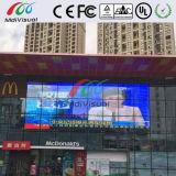 屋内および屋外のための透過ガラスLEDスクリーン