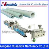 Linha de produção extrusora da extrusão da tubulação de PE/PPR/PP/PVC do plástico
