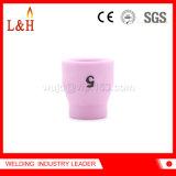 ugello di ceramica 53n25 usato sul cannello per saldare di TIG di Wp24/Wp24W