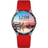 2016 Kw88 Slim Horloge WiFi Androïde 5.1 met Kaart SIM en Camera