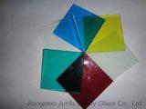 8mm+1.52PVB+8mm (17.52mm)はカラーPVBの薄板にされたガラスを和らげた