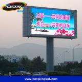 Pantalla exterior de alto brillo RGB P6 Wateproof de visualización de publicidad
