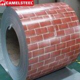 屋根ふき材料装飾的なPPGIの鋼鉄コイル