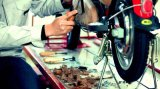 [ك] يوافق كهربائيّة درّاجة ناريّة [سكوتر]