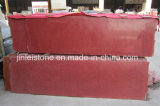 Il porfido rosso Cubestone, il Cobblestone, granito è caduto pietra del ciottolo