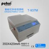 Forno do Reflow do ar quente, forno Desktop Puhui T937m do Reflow de SMT