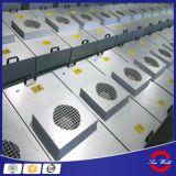 H14 FFU HEPAフィルターファンによってモーターを備えられるクリーンルームのファンフィルターユニットFFU