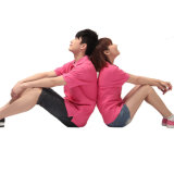 Befestigte Frauen-trockene Sitz-Golf-Polo-Hemd-en gros Arbeits-Kleidung
