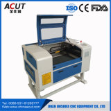Máquina de estaca da gravura do laser do CNC do Desktop de Acut mini com Ce