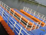 Pontón de flotación plásticos