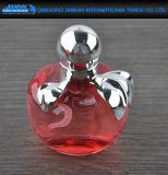 Frasco de perfume de vidro do projeto de Apple com pulverizador da bomba