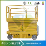 Levage électrique de ciseaux de levage mobile hydraulique d'approvisionnement d'usine