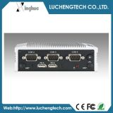 Сердечник N2600 атома Advantech Ark-1122c-S6a1e Intel двойной с 4 PC коробки COM Port Extendibility Fanless