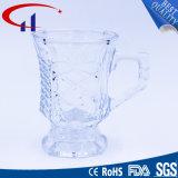 copo do vidro de cerveja da venda por atacado da fábrica 140ml com mão (CHM8377)