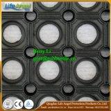 couvre-tapis en caoutchouc de glissade de couvre-tapis en caoutchouc résistant à l'acide en caoutchouc creux de couvre-tapis de 800*800mm anti