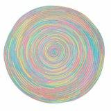 Poliéster 100% colorido Placemat tecido para o Tabletop